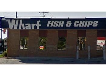 Sarnia fish and chip Sarnia Wharf Fish & Chips