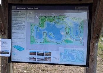 Abbotsford hiking trail Willband Creek Park Trail