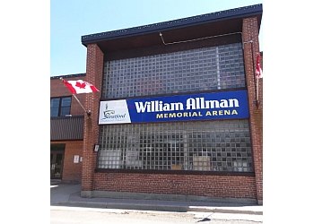 Stratford places to see William Allman Memorial Arena