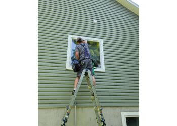 Sault Ste Marie window cleaner Winberg Window Cleaning