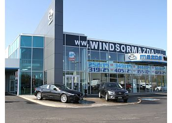 Windsor car dealership Windsor Mazda