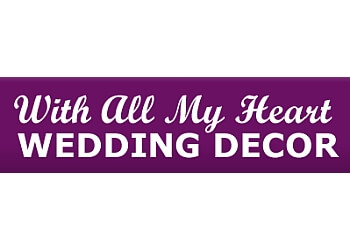 Burlington wedding planner With All My Heart Wedding Decor Inc.