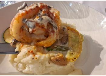 Fredericton seafood restaurant Wolastoq Wharf