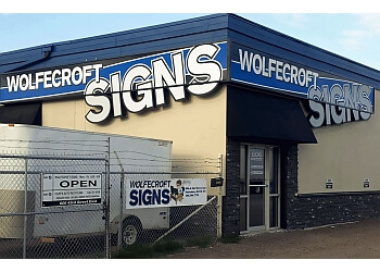 Saskatoon sign company Graphic Artwork: