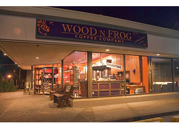 Delta cafe Wood N Frog Coffee Company