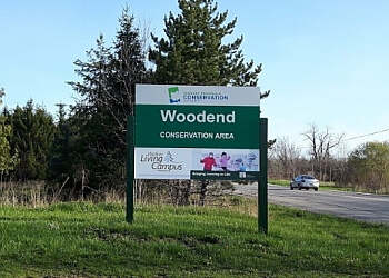 St Catharines hiking trail Woodend Conservation Area