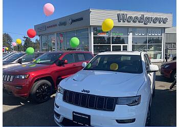 Nanaimo car dealership Woodgrove Chrysler