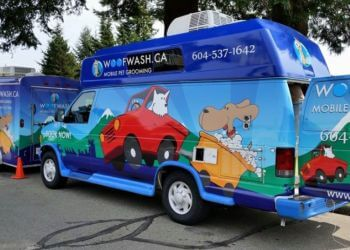 North Vancouver pet grooming Woof Wash