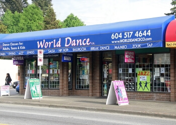 Burnaby dance school World Dance Co