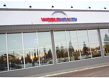 Edmonton gym World Health - Glenora