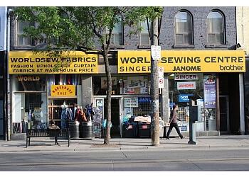Markham sewing machine store WorldSewCentre