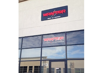 Calgary sign company Wraptor Signs & Graphics