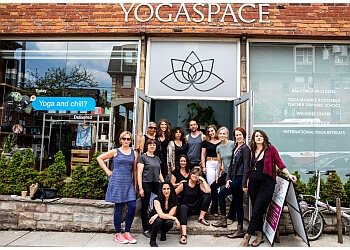 Toronto yoga studio Yogaspace