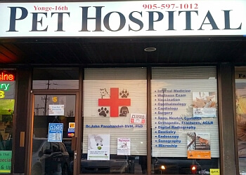 Richmond Hill veterinary clinic Yonge 16th Pet Hospital