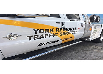Richmond Hill towing service York Regional Traffic Services