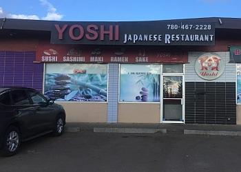 Sherwood Park japanese restaurant Yoshi Japanese Restaurant