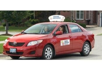 Halton Hills driving school Young Drivers of Canada