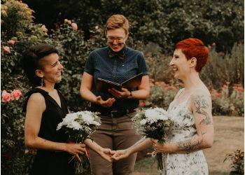 Vancouver wedding officiant Young Hip & Married
