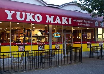 North Vancouver japanese restaurant Yuko Maki