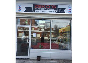 Hamilton barbershop Zeko's Barbershop