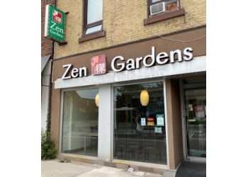 London vegetarian restaurant Zen Gardens