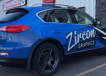 Lethbridge sign company Zircon Graphics