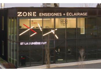 Blainville sign company Zone Enseignes+Éclairage
