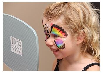 Brantford face painting Glitterbug