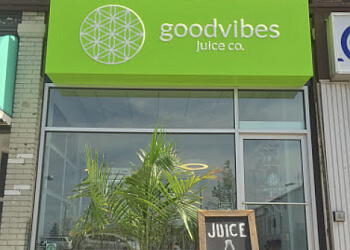 Kitchener juice bar Goodvibes juice co.