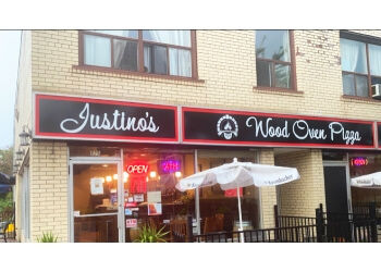 Oakville pizza place  Justino's Wood Oven Pizza