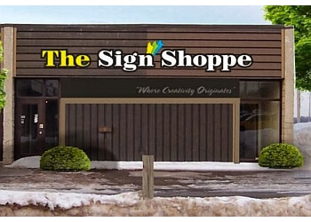 Halton Hills sign company the Sign Shoppe