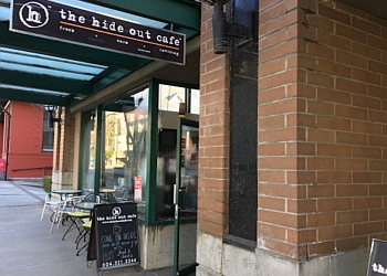 New Westminster cafe The Hide Out Cafe